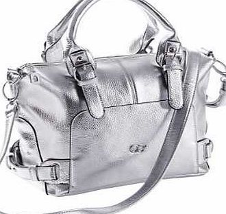 Creation L Shoulder Bag Eye-catching trendy faux leather bag, with decorative clasp and removable, adjustable strap. A main compartment with zip, side inside compartment with zip, mobile phone and slip pocket. Creation L Bag http://www.comparestoreprices.co.uk/handbags/creation-l-shoulder-bag.asp
