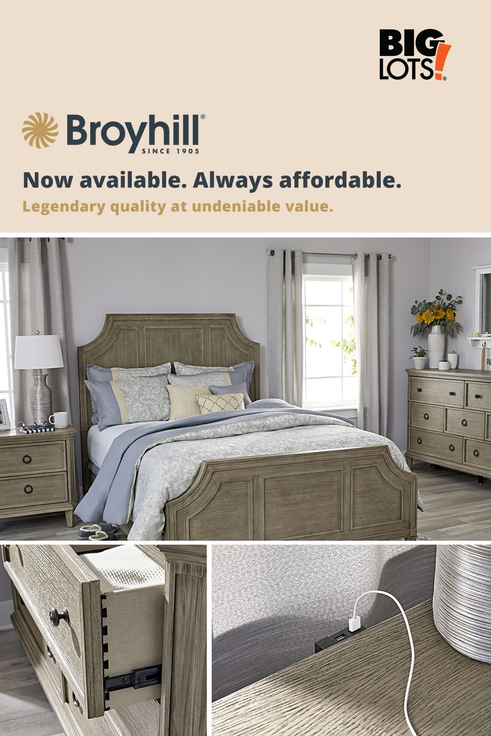 Legendary quality at undeniable value. in 2020 Broyhill