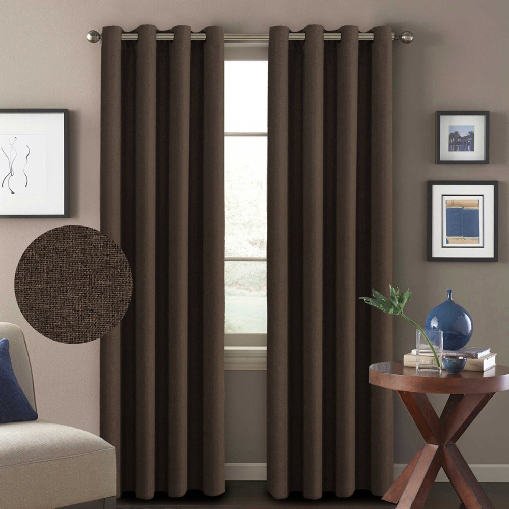 Blue And Brown Curtains Cheap Sale Ease Bedding With Style In 2020 Brown Curtains Living Room Brown Curtains Brown Curtains Bedroom #thermal #curtains #for #living #room