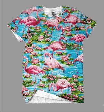 9d3c98f60b Flamingo Paradise Men's T-Shirt | I ❤ WAS | Flamingo shirt, T ...