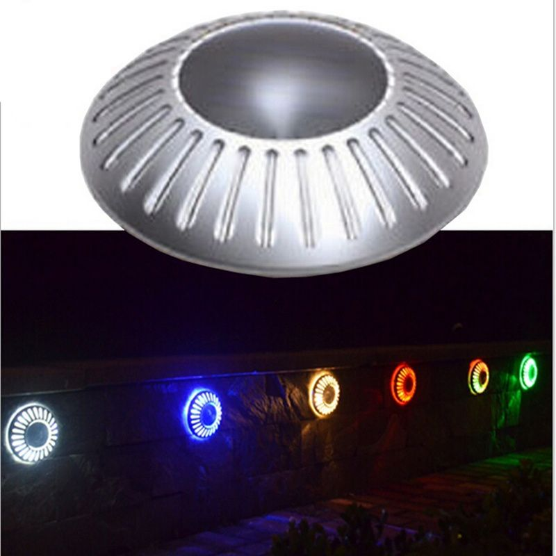 Waterproof Solar Ed Led Buried Light Underground Wall Ufo Outdoor Bulb Lamp For Garden Decoration 2 Pieces Lot Price 35 96