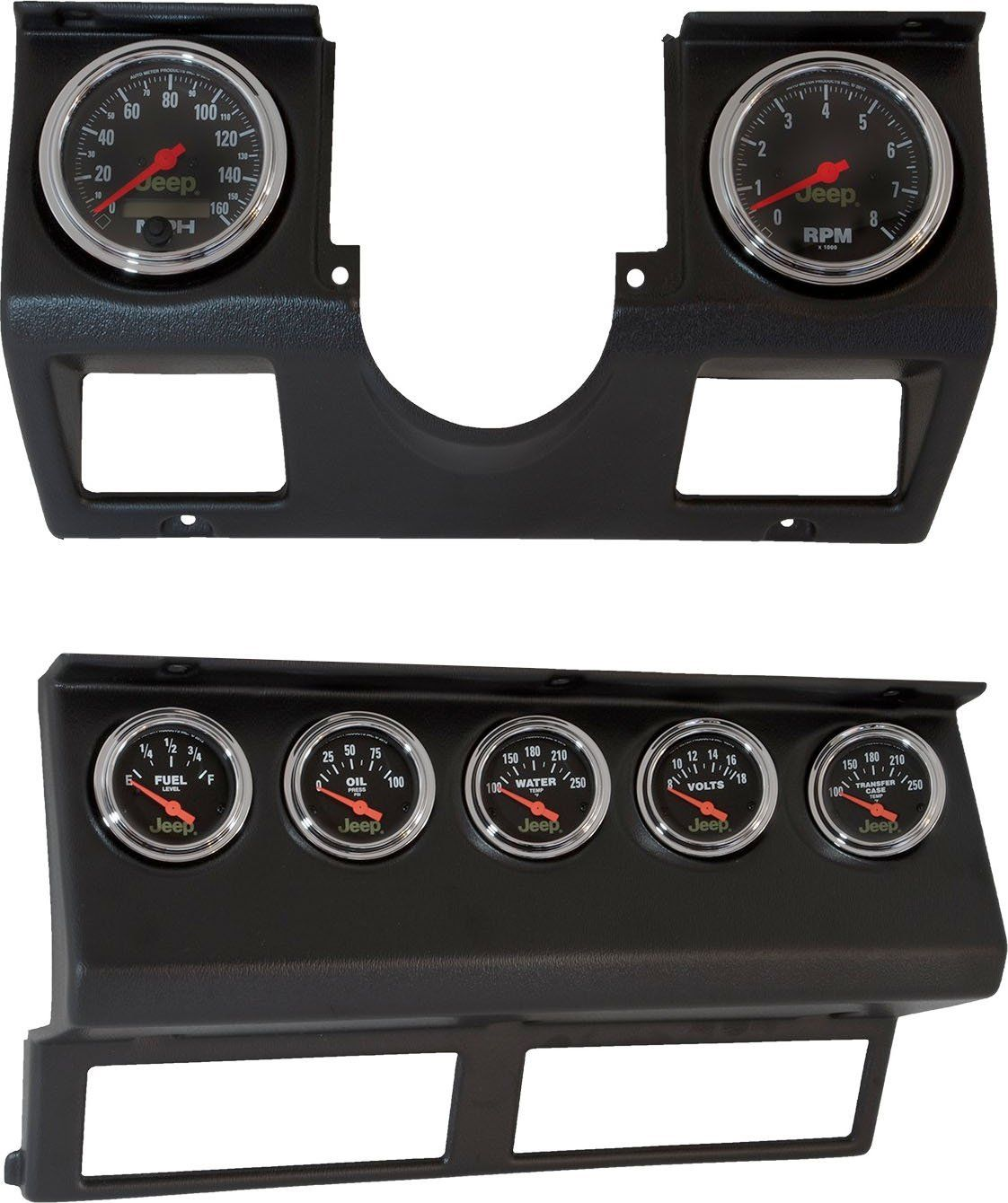 Auto Meter 7040 Dash Panel With Gauges For 87 95 Jeep Wrangler Yj