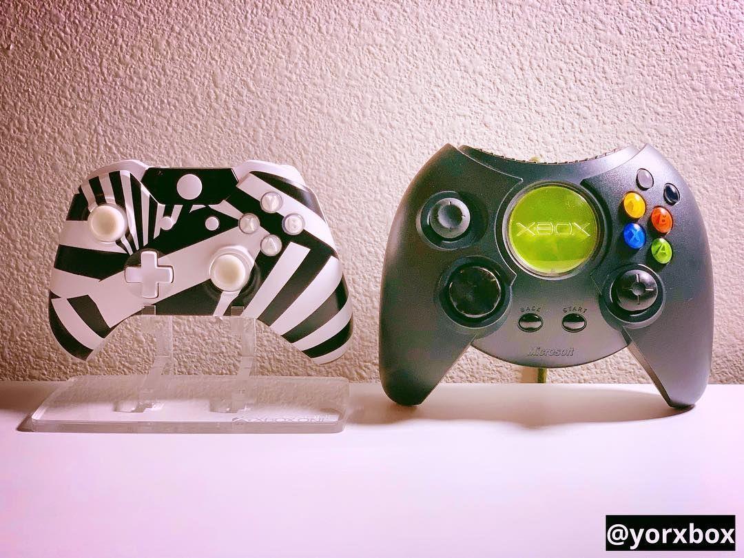 Xbox One Zebra Prototype Controller Original Xbox Dakota Prototype Controller Xboxone Xbox Xbox One Zebra Prototype Control Original Xbox Xbox One Xbox