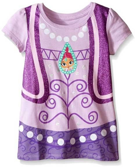 a7239b301b Color Lavender Sizes 2T 3T 4T 5T Brand Nick Jr Shimmer And Shine Officially  Licensed Nick Jr Shimmer And Shine Toddler Shirt