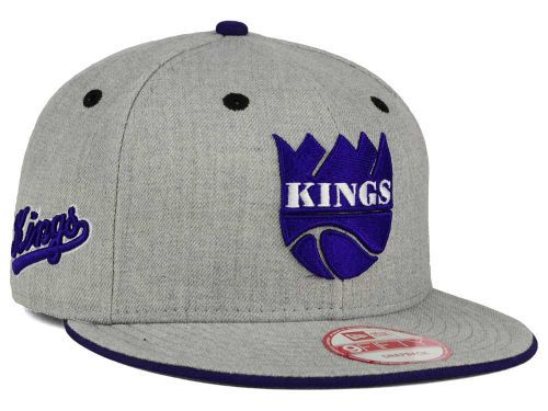 ca6b3781 Sacramento Kings New Era NBA HWC Heather Team Color 9FIFTY Snapback Cap Hats