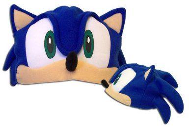 Amazon Com Sonic X Fleece Cap Ge 2242 Clothing Sonic The Hedgehog Costume Sonic Costume Storybook Character Costumes
