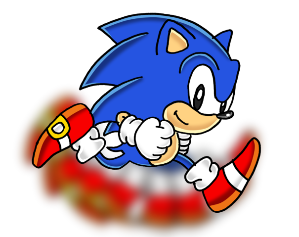 Image Result For Sonic Running Classic Sonic Sonic Sonic Dash