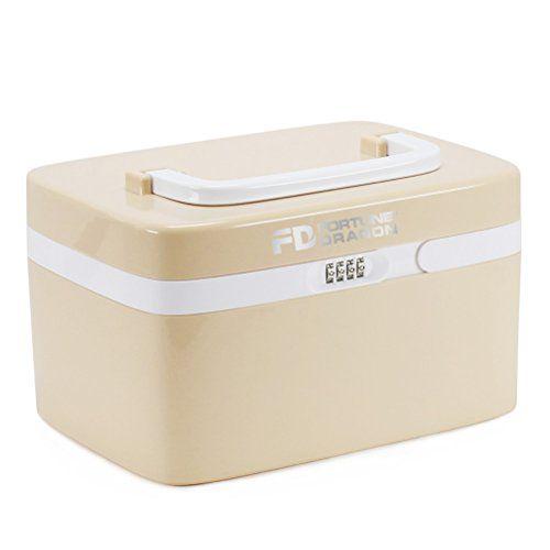Storage Boxfortune Dragon Advanced Combination Coded Lock Medicine Cabinet With Separate Compartments Childproof Pill Case
