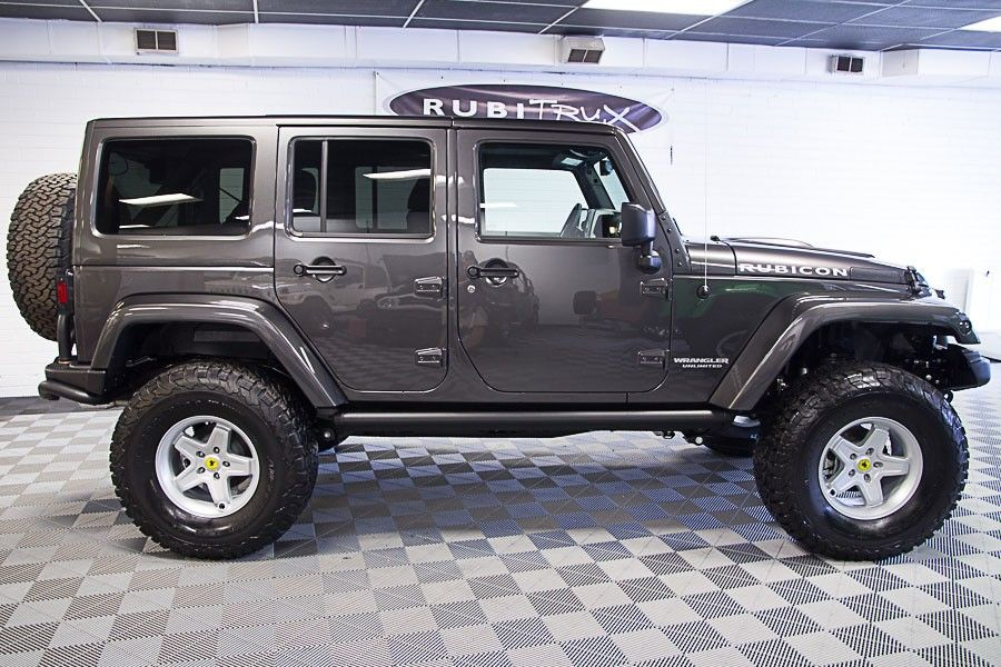 2016 Jeep Wrangler Rubicon Unlimited Granite Jeeps