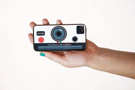 The Polaroid iPhone Decal