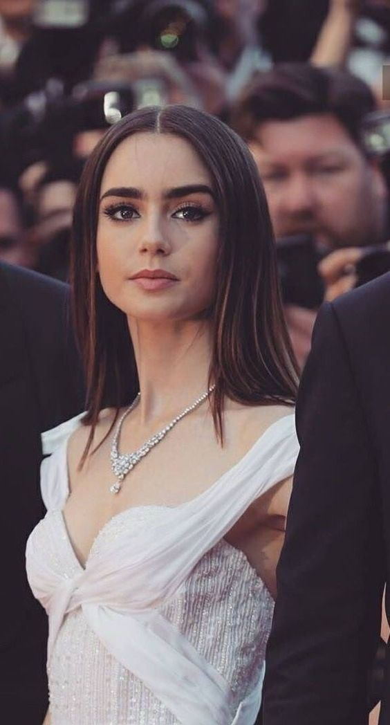 Photo of beautiful and attractive wedding dress #lilycollins beautiful and attractive wed…