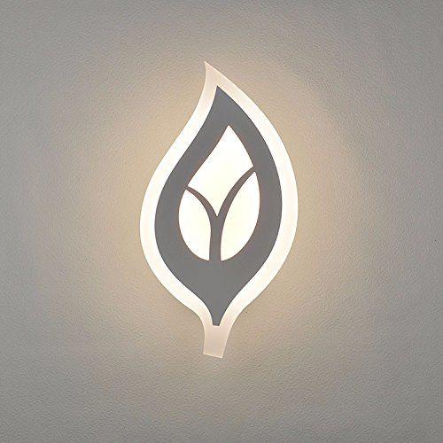 Vanme Einfache Led Lampe Ideen Blatt Formen Wall Wandleuc...  Https://www.amazon.de/dp/B01MRH79OW/refu003dcm_sw_r_pi_dp_x_HV.Ayb9C3PPWT |  Pinterest