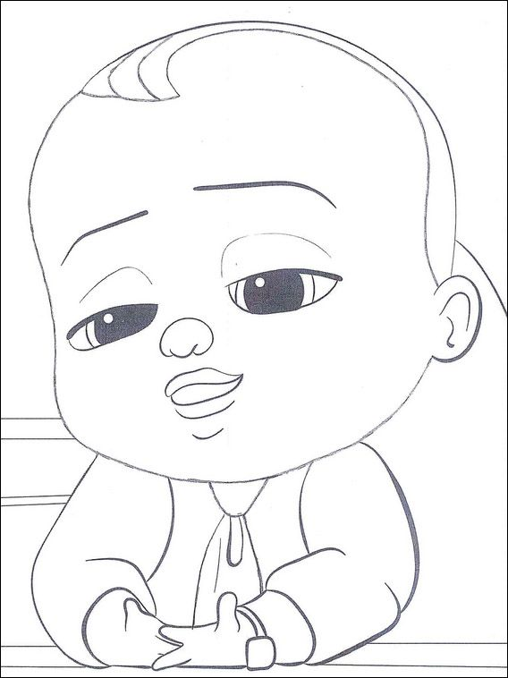 Boss Baby Coloring Pages 6 Cool Coloring Pages Baby Coloring Pages Coloring Pages For Kids