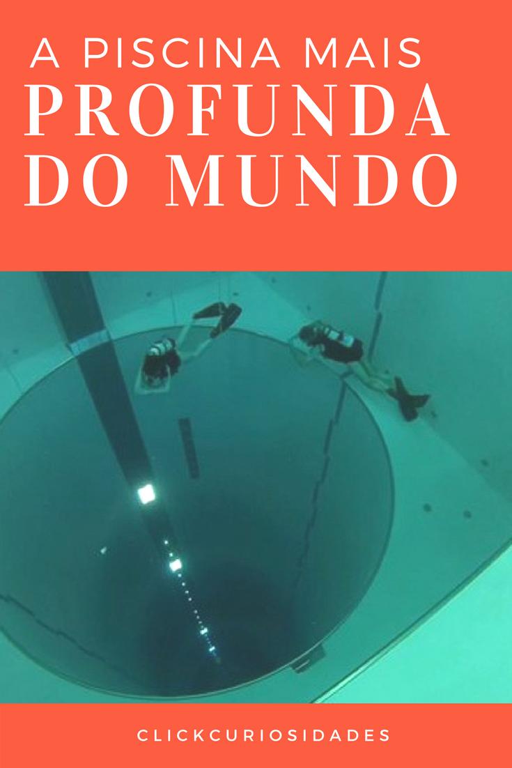 ESTA É A PISCINA MAIS PROFUNDA DO MUNDO Conheça Y40 Deep