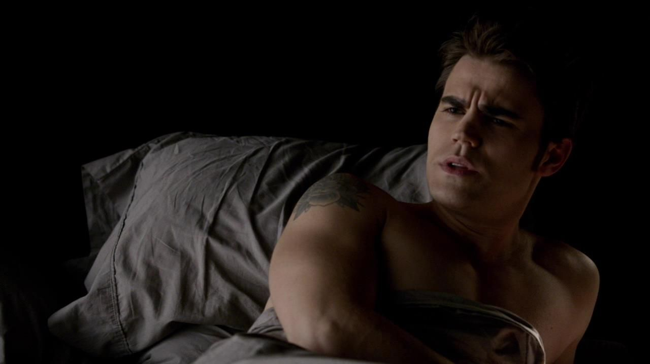 Similar situation. paul wesley nude there