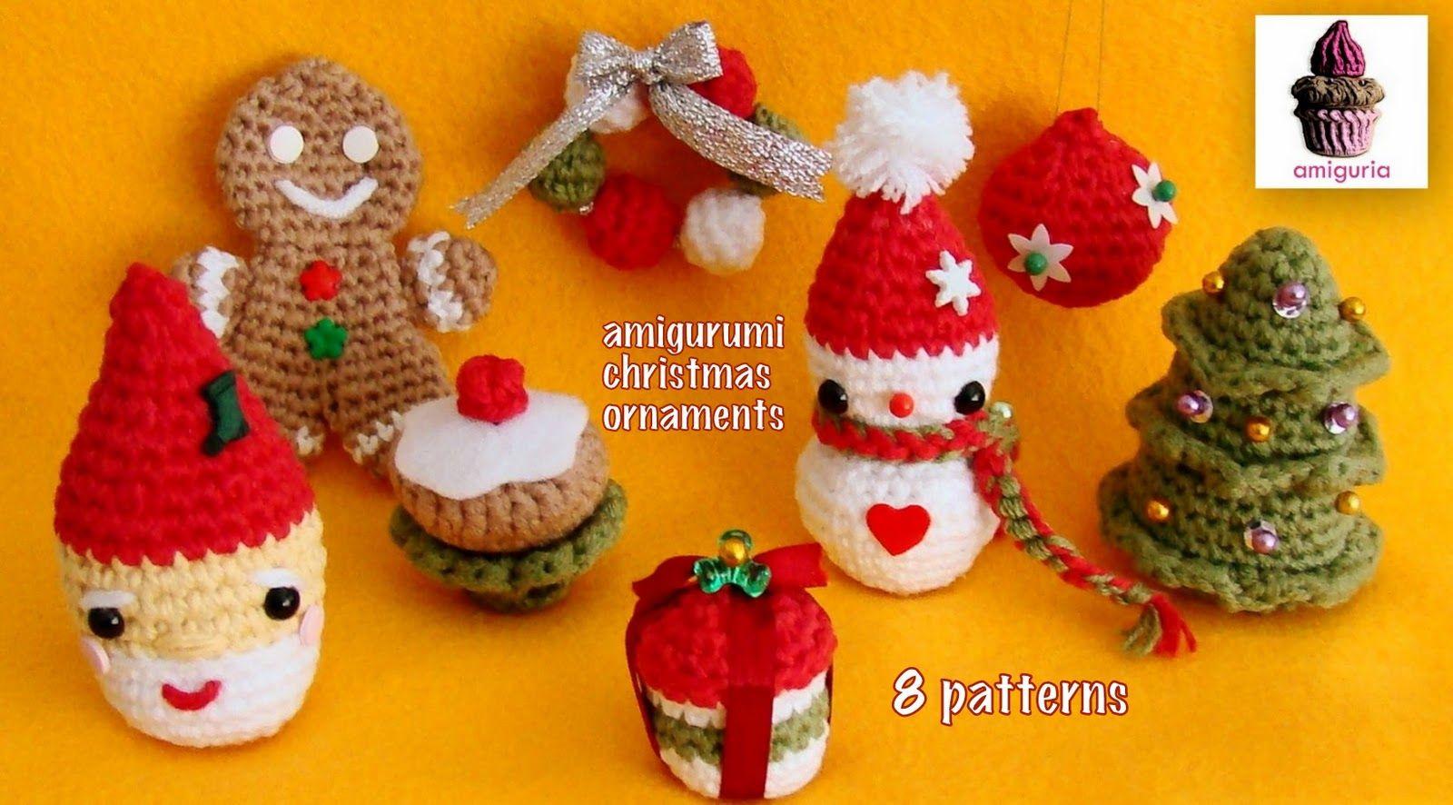 Amigurumi Christmas Free Patterns : Amiguria amigurumi free pattern christmas stocking christmas