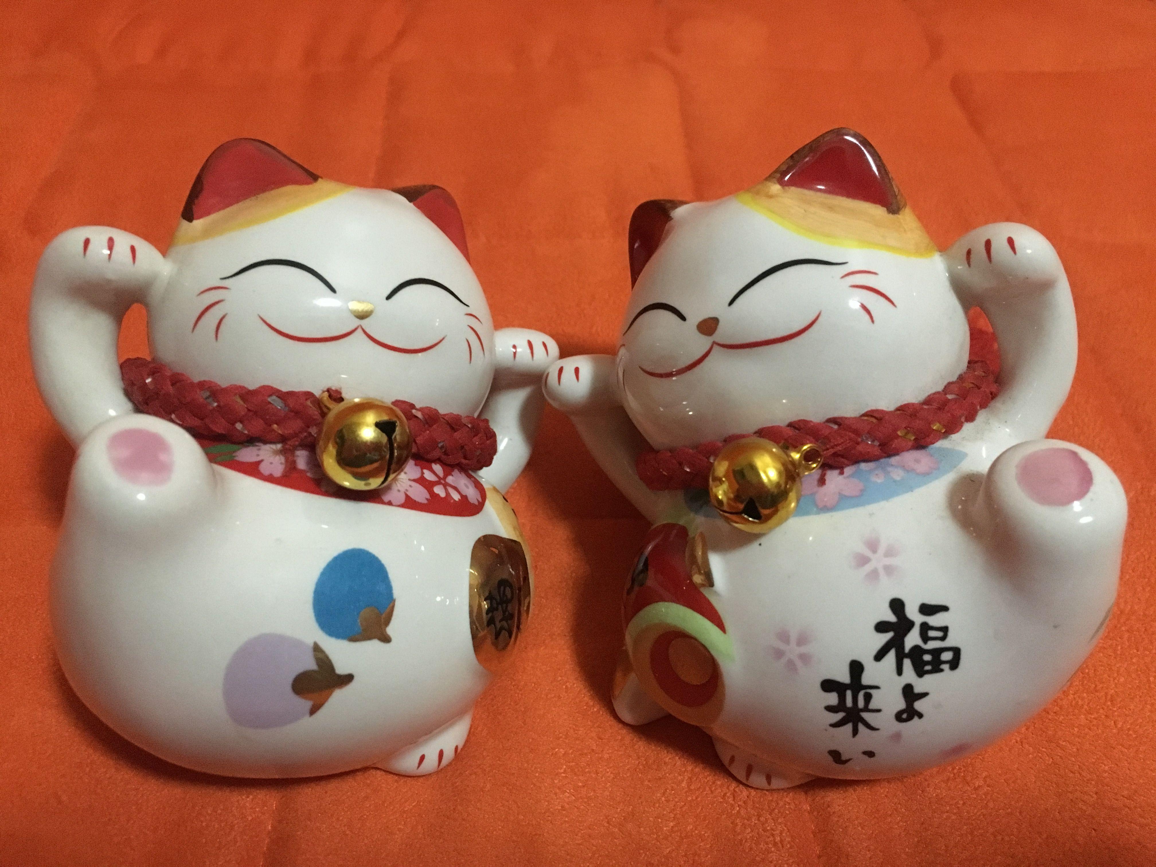 Pin by Kathryn Leach on good luck kitties Maneki neko