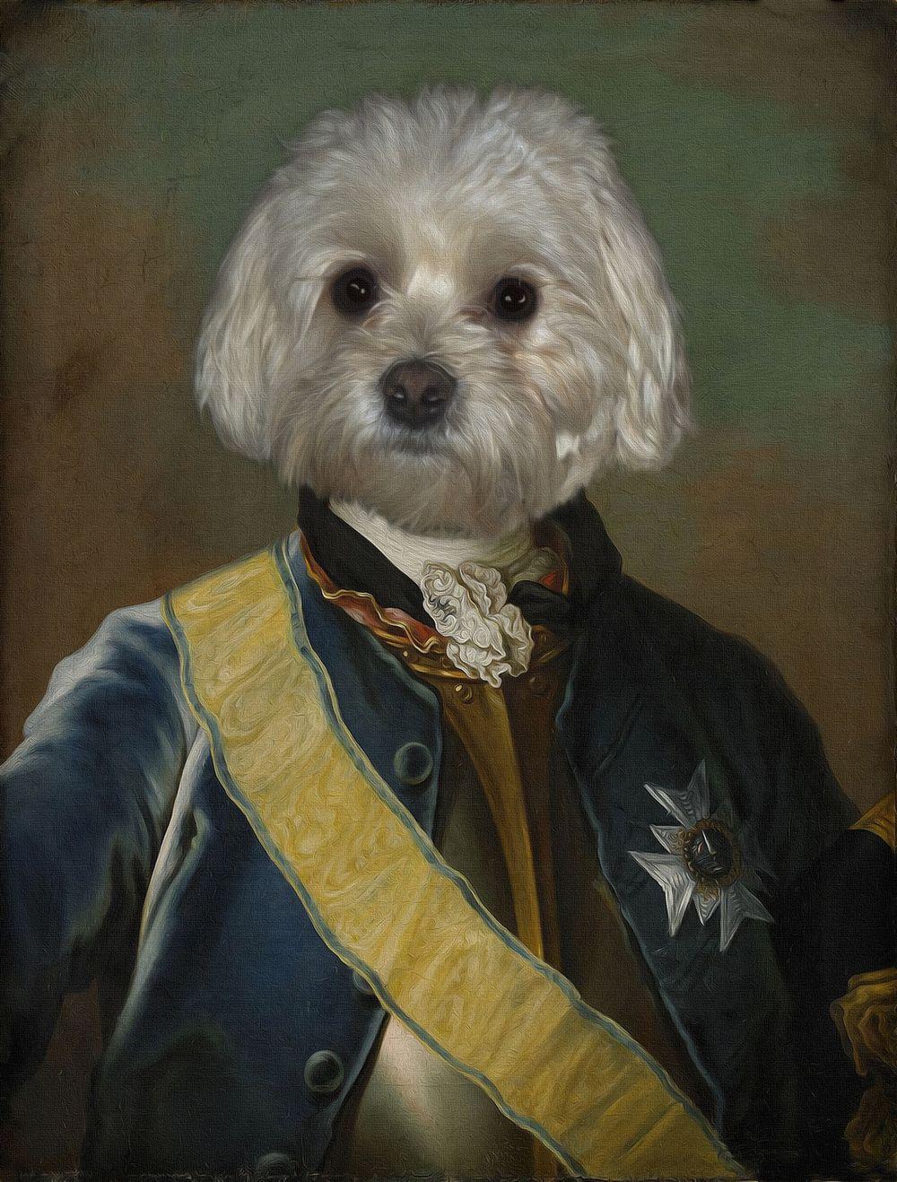 Anthropomorphic Dog Digital Art Samara Rabinowitz In 2019 Dog