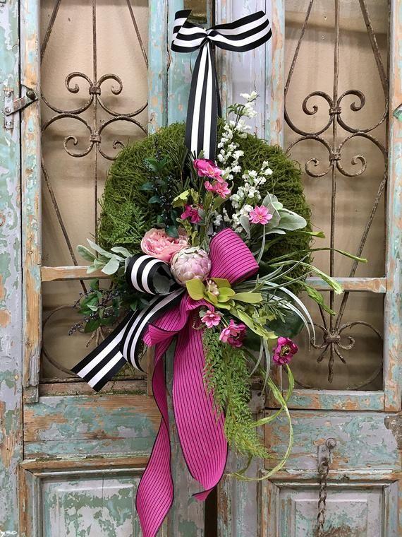 Photo of Spring Wreaths, Summer Wreaths, Spring Wreath