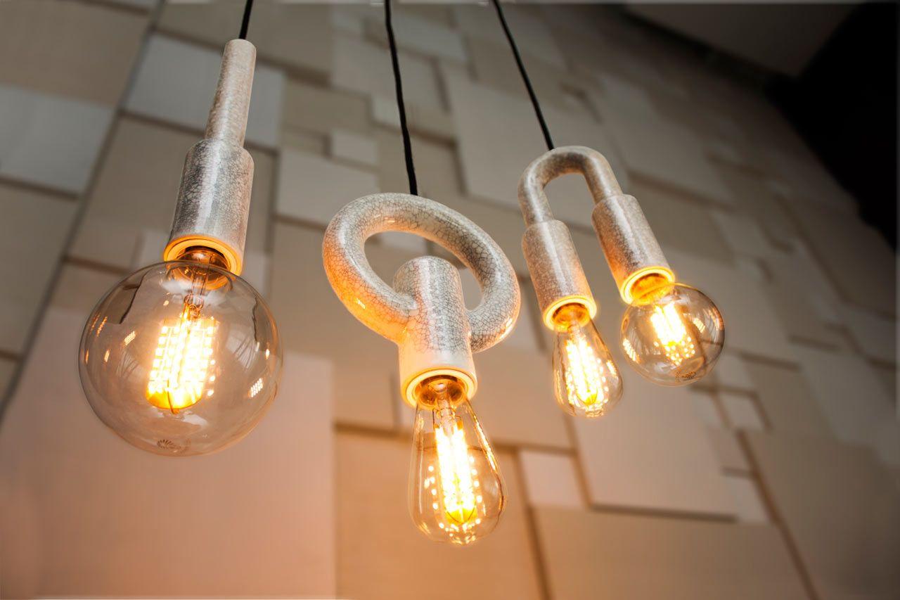 ION Ceramic Pendant Lights from Porcelain Bear Pendant lighting