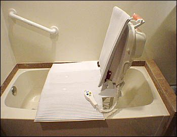 Electric Bath Lift - Accessible Design