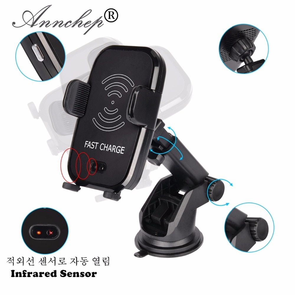 Cheap Price Automatic Infrared Senser Mobile Phone Qi Fast