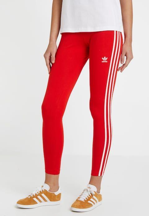 STRIPES TIGHT - Legging - active red @ ZALANDO.BE ...