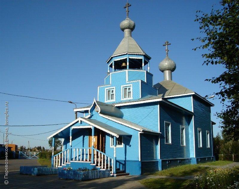 Church of the Resurrection in Severodvinsk, Arkhangelsk Oblast. August 8, 2009