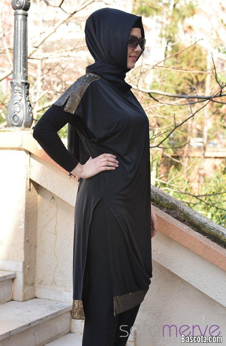 ازياء محجبات ارق ملابس محجبات حجاب اخر موضة كاجوال Casual Hijab 2014 Clothes For Women Fashion Clothes