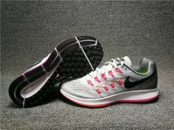 63d5b93432d Zero Defect Nike Air Zoom Pegasus 33 Black Grey Pink Women s Running Shoes  Sneakers 831356 006