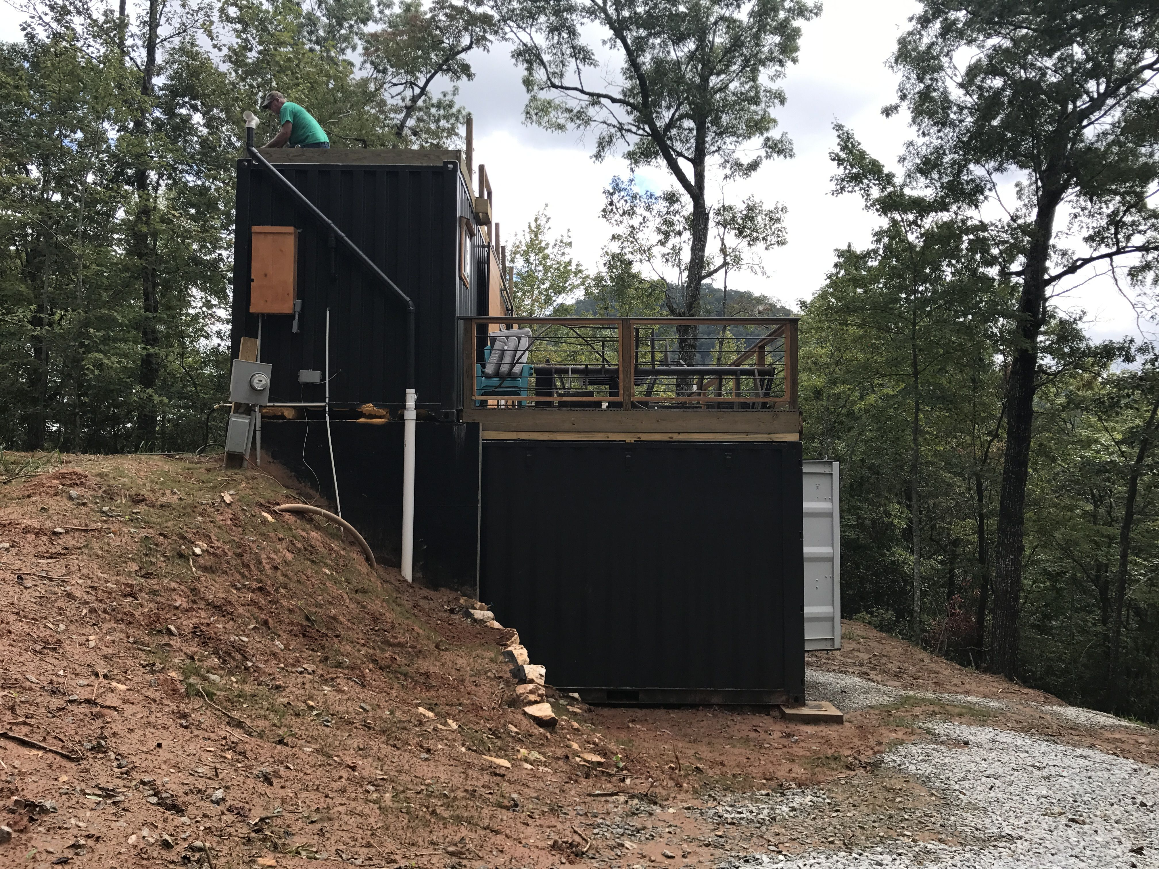 A few of the side of the appalachian mountain container