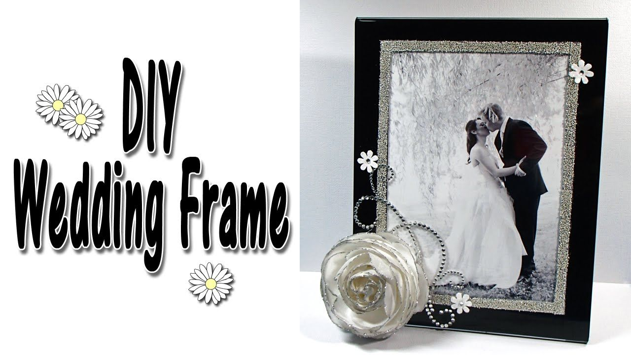 Easy DIY Wedding Frame tutorial video using