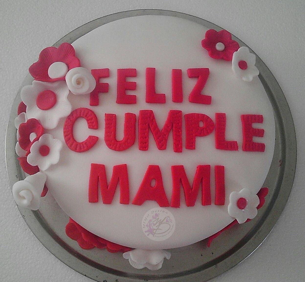 pastel de cumpleaños para Mamá
