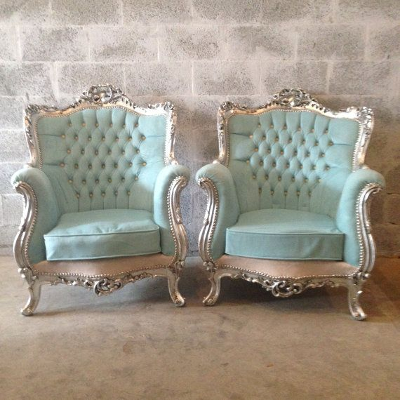 Antique French Louis XVI 5 Piece Chairs Fauteuils Wingback Bergere ...