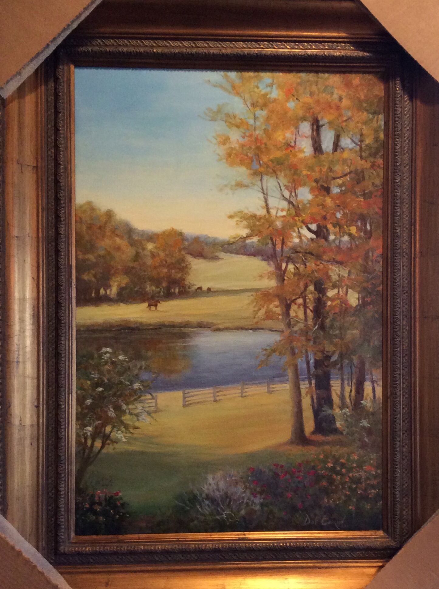 Copyright|2014 Oil, 24x36 by Dot Courson. Private collection.