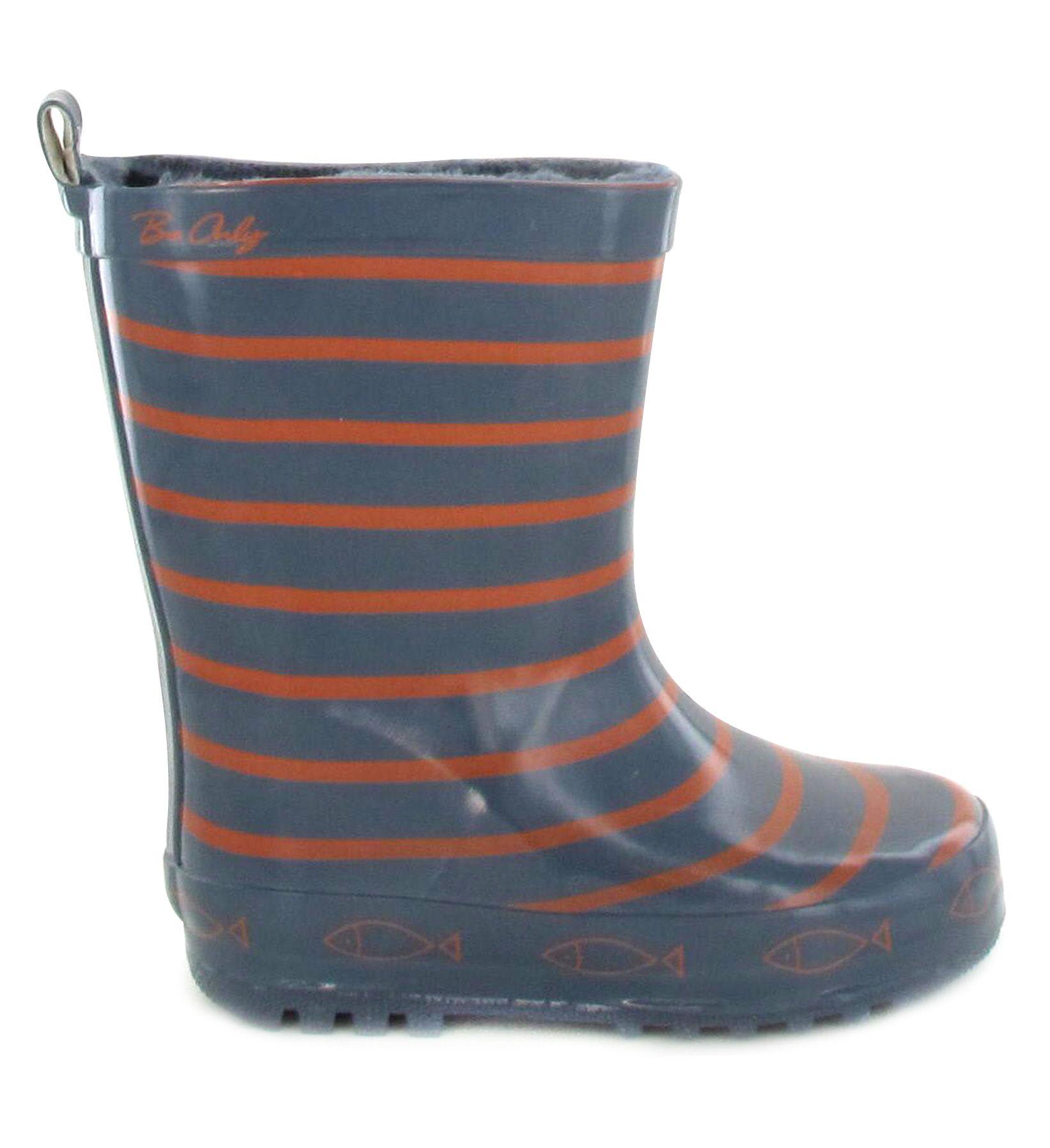 4f9ec94e280e8 Bottes de pluie enfant Be Only TIMOUSS Gris Orange www.be-only.com ...