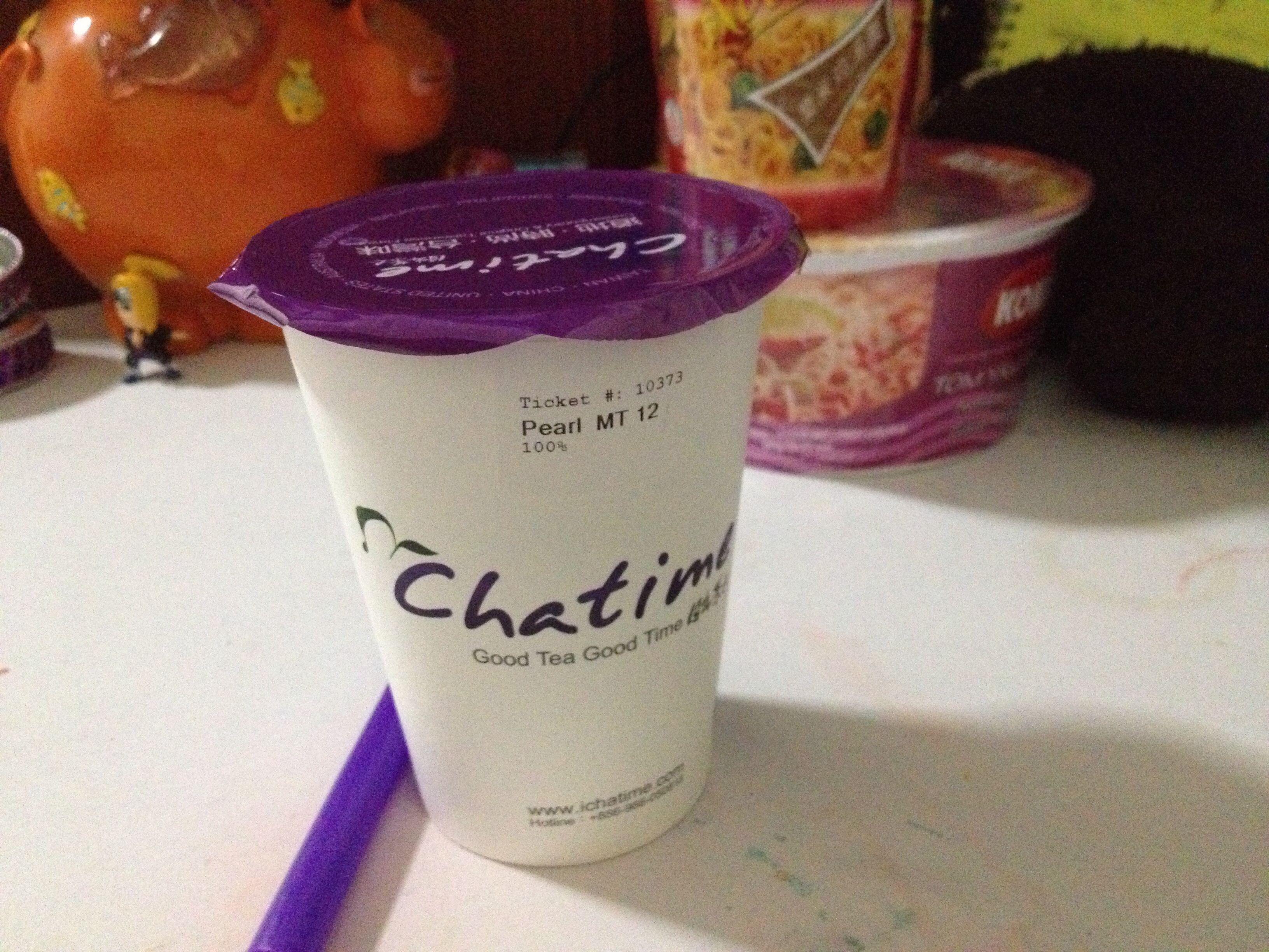Chatime herbal tea - Chatime Pearl Milk Tea