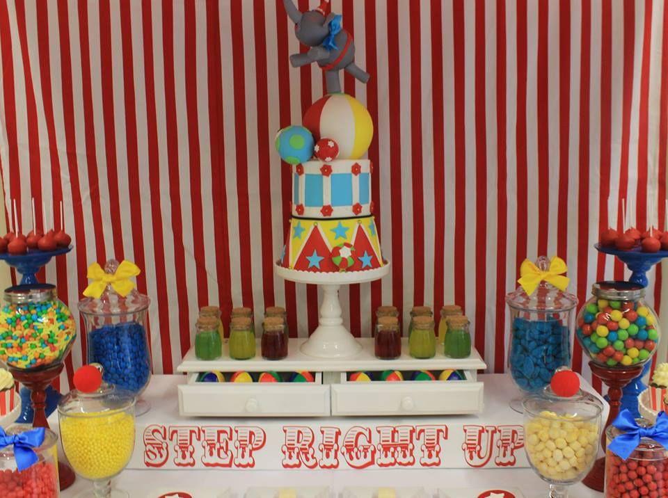 Carnival Themed Birthday Party Circus Theme Cakes Circus Theme