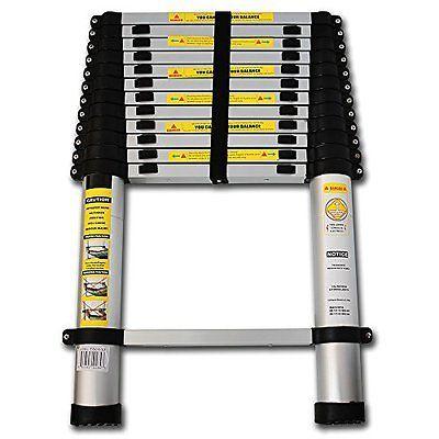 Oxgord 12 5 Multi Purpose Aluminum Telescoping Extension Ladder Aluminum Extension Ladder Telescopic Ladder Ladder