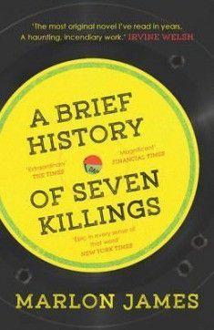 A Brief History Of Seven Killings. Jamaikalainen kirjailija Marlon James voitti Man Bookerin 2015 teoksellaan Bob Marleyn murhayrityksestä. Lähes 700-sivuinen järkäle on varattavissa PIKI-kirjastoista!