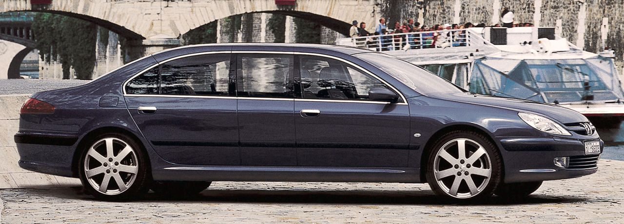 Peugeot 607 limo