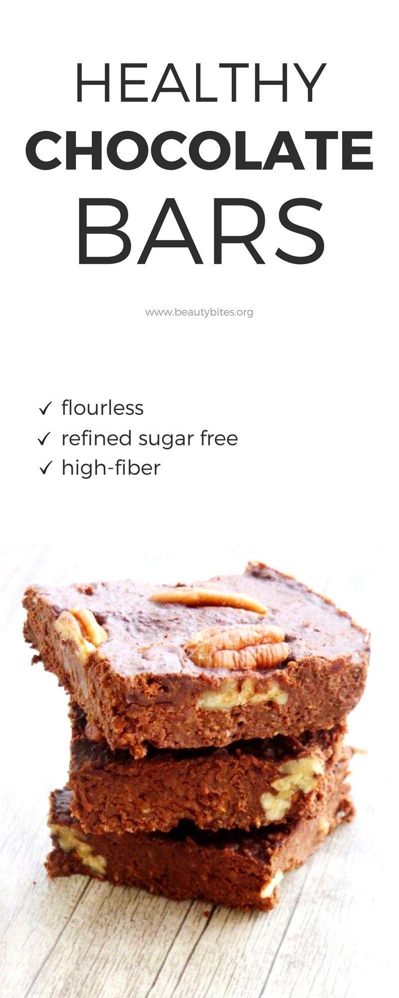 Healthy Chocolate Bars | Recipe | Healthy chocolate ...