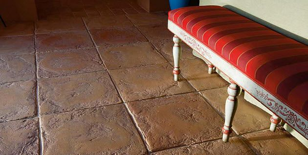 Rustic Floor Tile Google Search