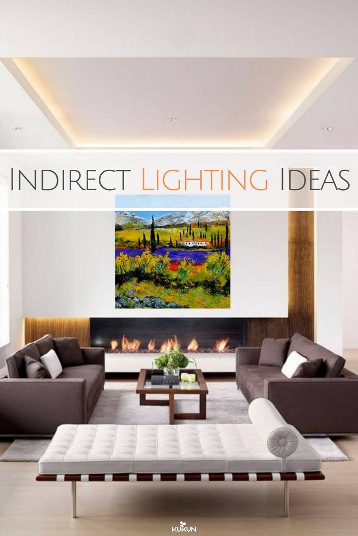 10 Indirect Lighting Ideas That Create A Stylish