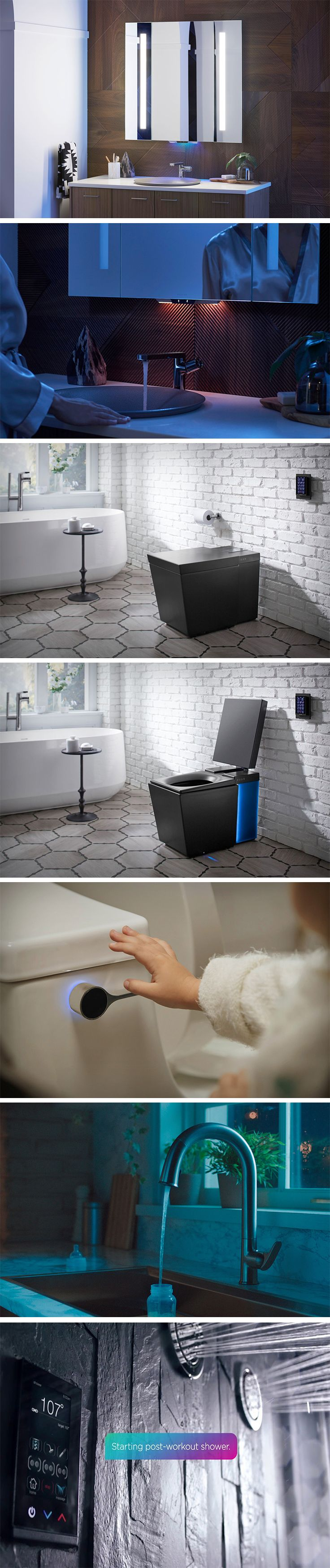 One Company To Keep An Eye On Is The Ever Impressive Kohler, Who This Year  Have Announced Their New Smart Home Products With U0027KOHLER Konnectu0027 U2013 Intu2026