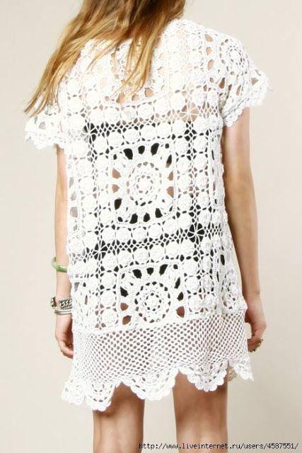 Irish crochet &: CROCHET DRESSES. IDEAS ... ПЛАТЬЯ. ИДЕИ