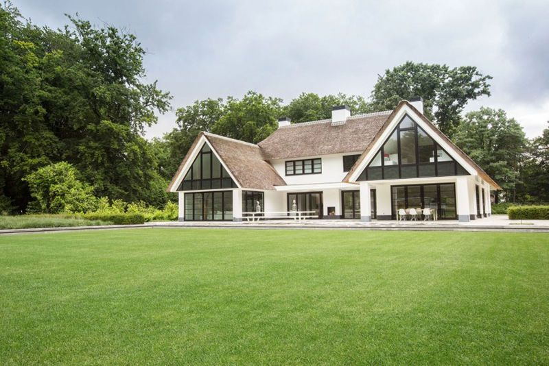 Rustic-Meets-Modern Home in Huizen, The Netherlands ...