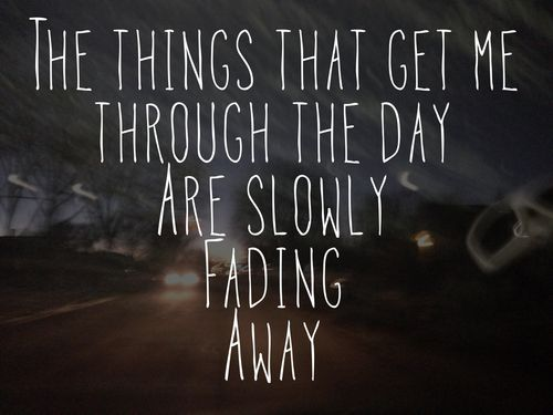 Quotes About Fading Love: Difficult Times Quotes