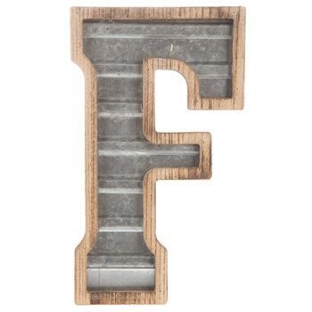 Wood Galvanized Metal Letter B Metal Letters Metal Letters Hobby Lobby Mirror Wall Decor