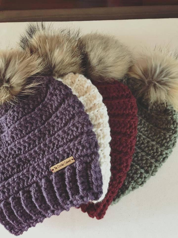 PATTERN ONLY, Lennox Beanie Pattern, Crochet Pattern, Winter Hat ...